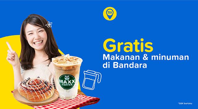 TIX Spot Bersama Maxx Coffee