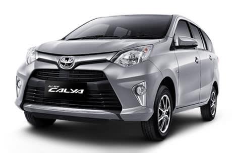 rental mobil Toyota Calya Padang
