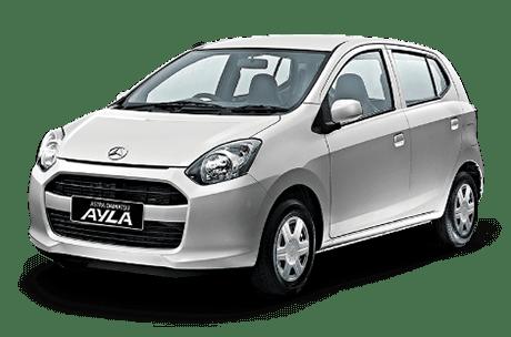 rental mobil Daihatsu Ayla Padang