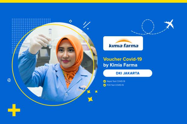 COVID-19 Rapid / PCR / Swab Test by Kimia Farma - DKI Jakarta